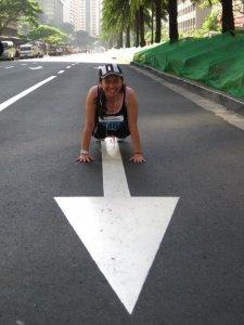 push ups @ ayala avenue