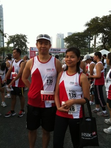 Reggie and Donna - HSBC 135 RUn