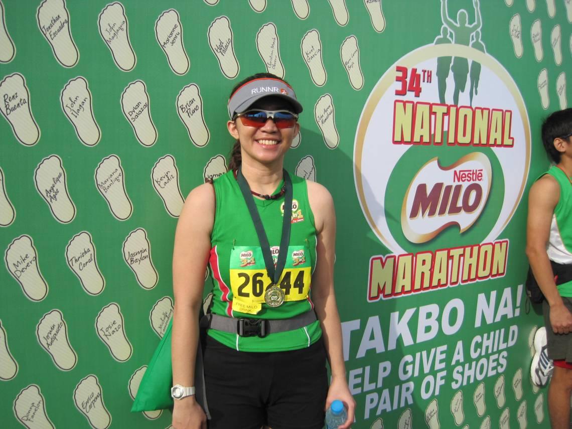 My first half marathon!