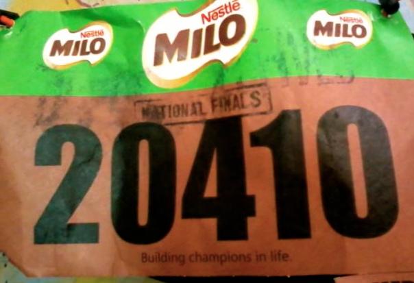 milo marathon singlet